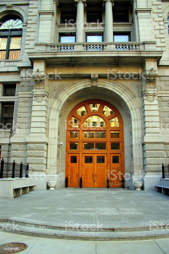Government Center, Boston royalty-free stock photo