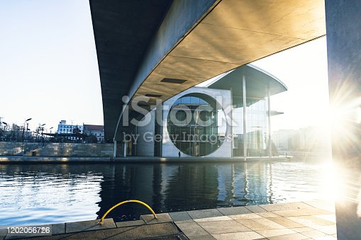 istock government district in Berlin in the winter morning sun 1202056726