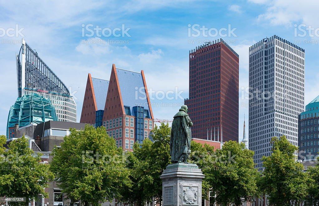 Government district the Hague Netherlands stock photo