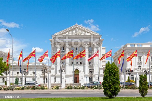 686175420 istock photo Government of Republic of Macedonia in Skopje 1150892257