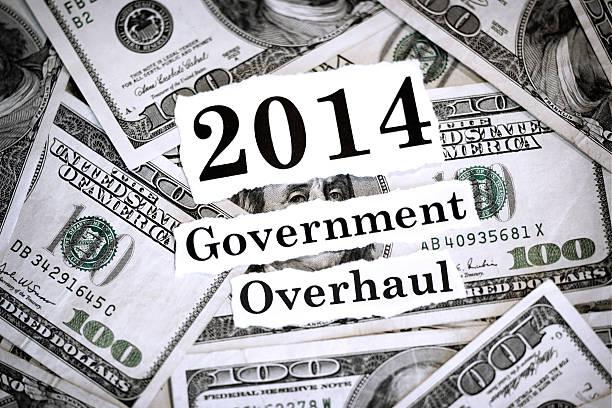 regierung aufzupeppen 2014 - bundeshaushalt 2014 stock-fotos und bilder