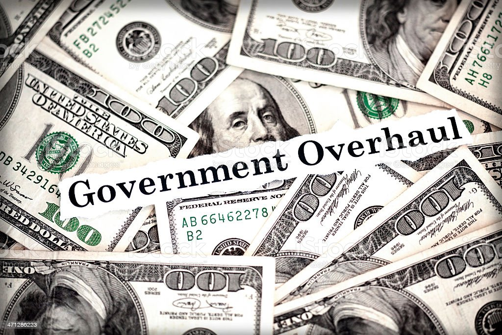Government Overhaul royalty-free stock photo