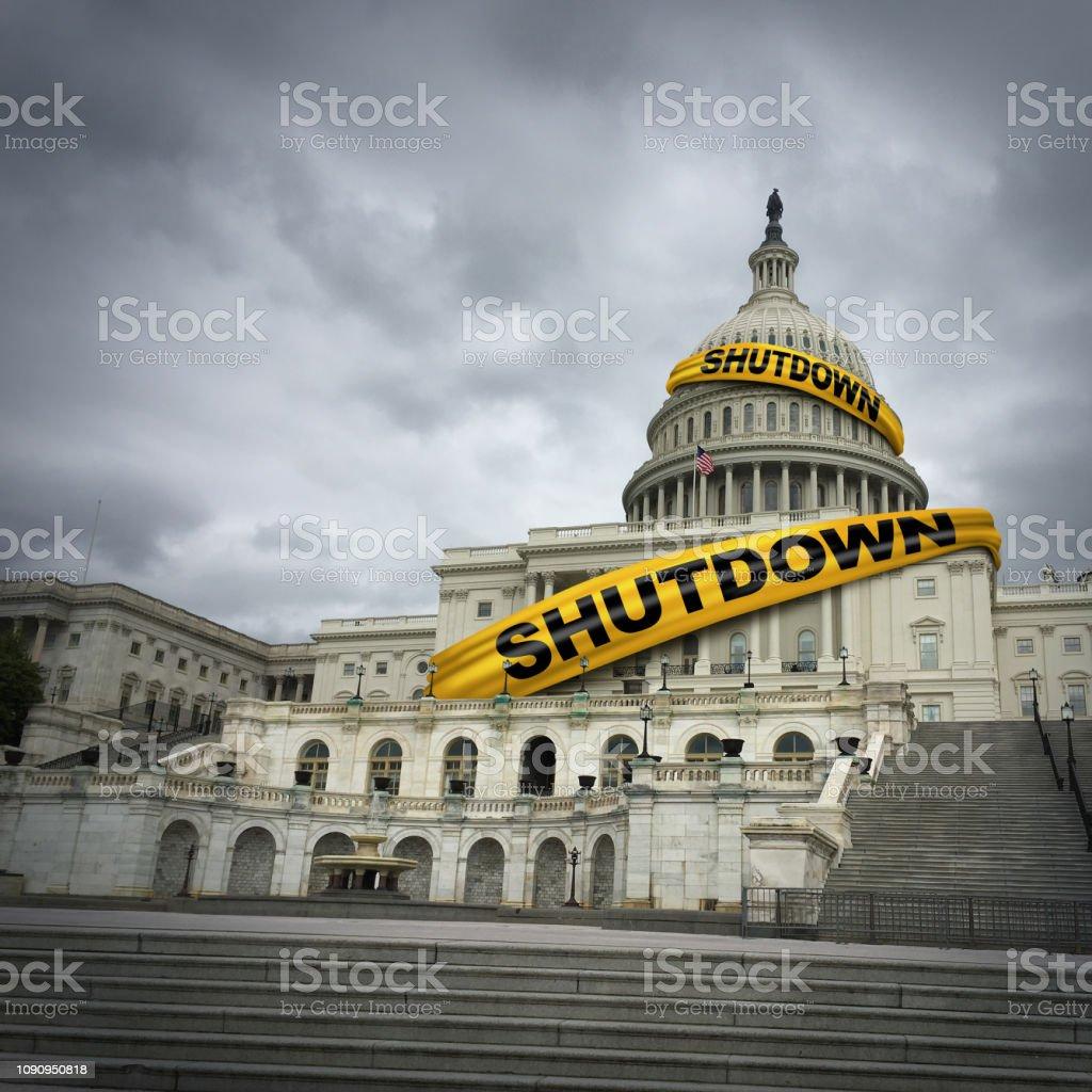 USA-Verwaltungsstillstand – Foto