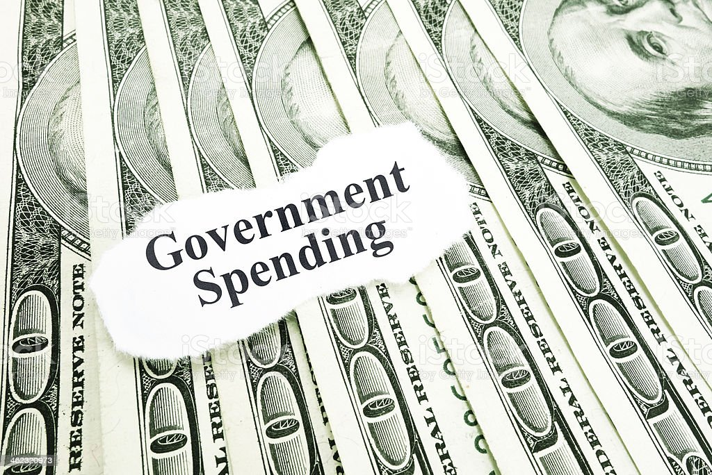 Government spending royalty-free stock photo
