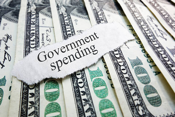 government spending - commercial activity stock photos and pictures