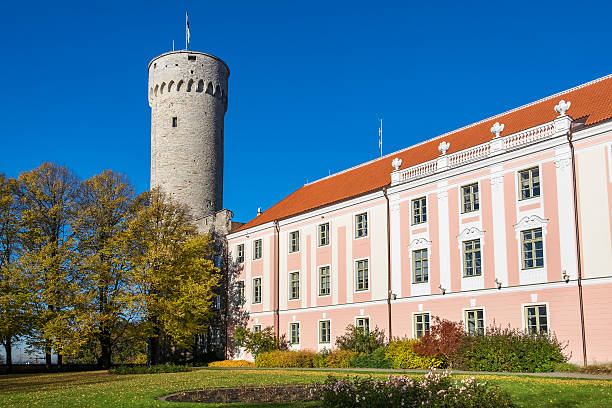 Governors garden. Tallinn, Estonia stock photo