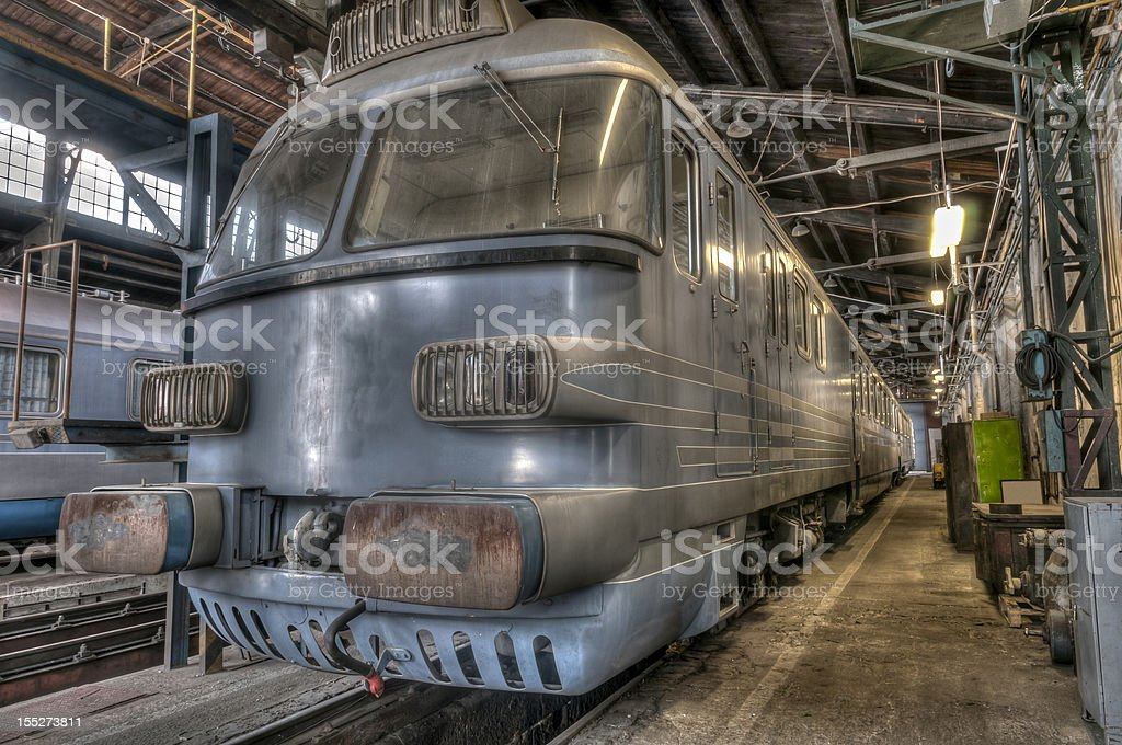 Governor's train HDR royalty-free stock photo