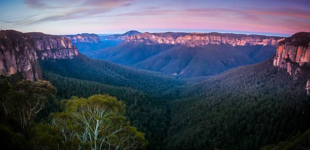 Govetts Leap lookout im Blue mountain, Katoomba – Foto
