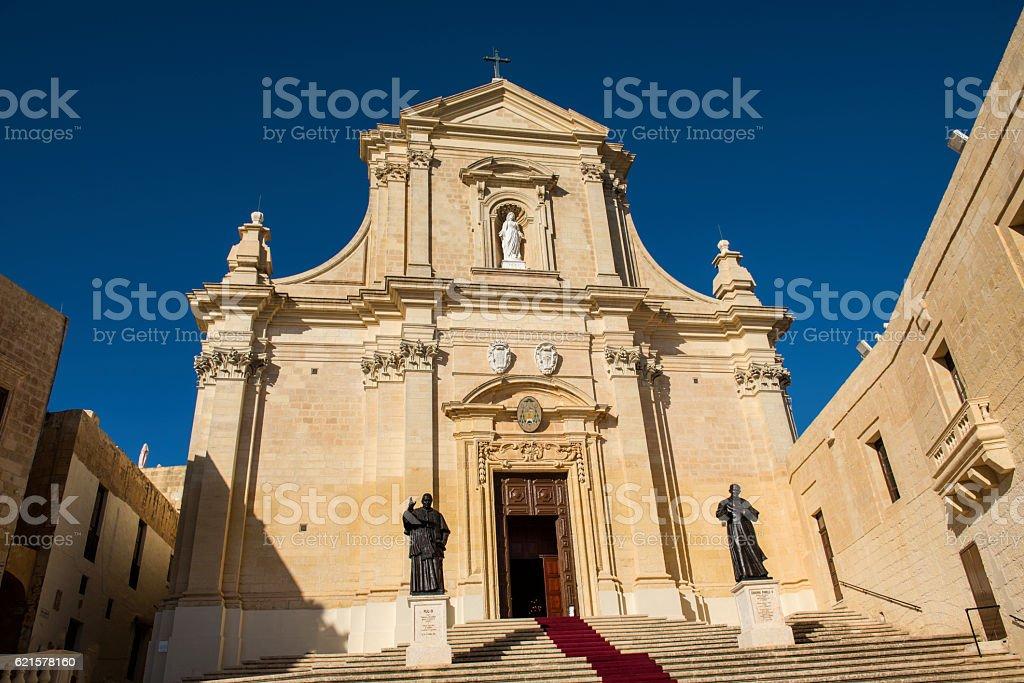 Gozo Cathedral of the Assumption, Gozo photo libre de droits