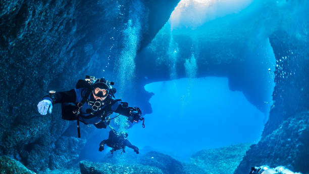 gozo diving - wreck diving stock pictures, royalty-free photos & images