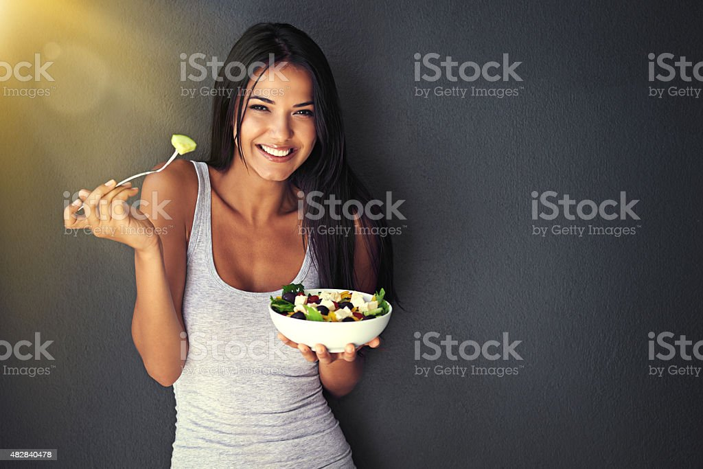 Grab a fork! stock photo