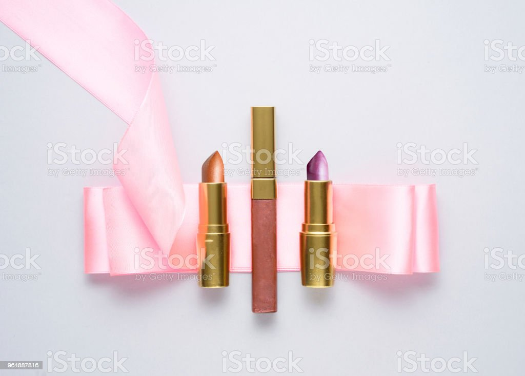 Grab a little make up. royalty-free stock photo