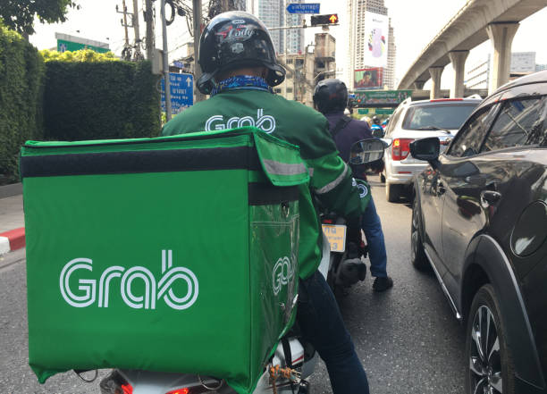 Grab bike food