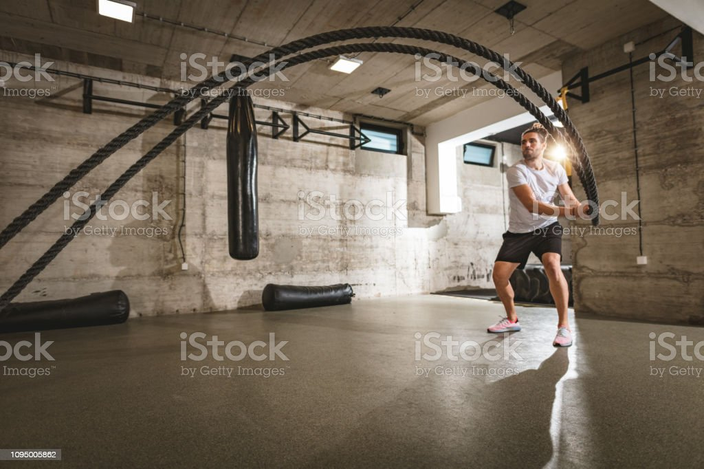 Grab Life Like Grab The Rope stock photo