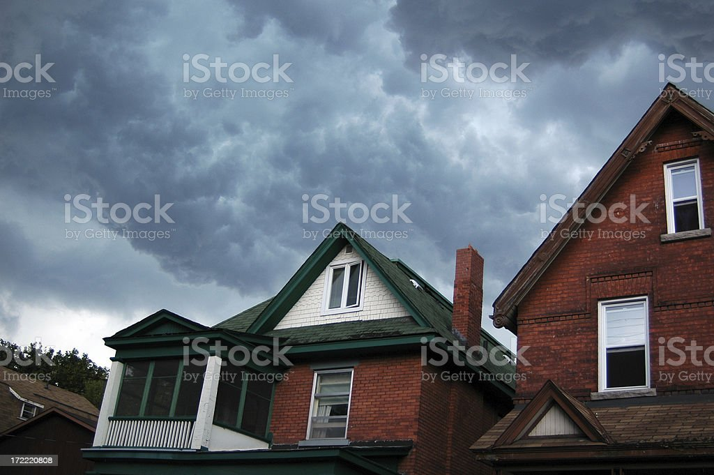 Grab your umbrella royalty-free stock photo