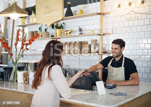 597640822 istock photo Grabbing a quick morning coffee 513951290