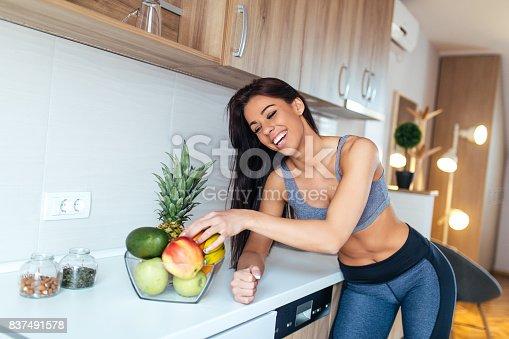 istock Grabbing some fruit 837491578