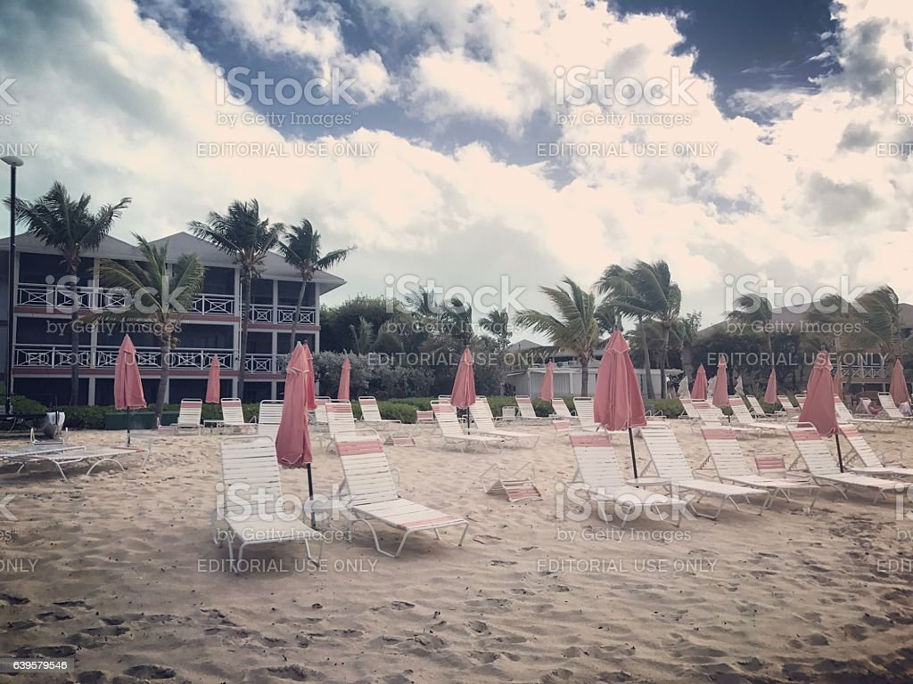 Grace Bay Beach, Turks and Caicos Islands stock photo