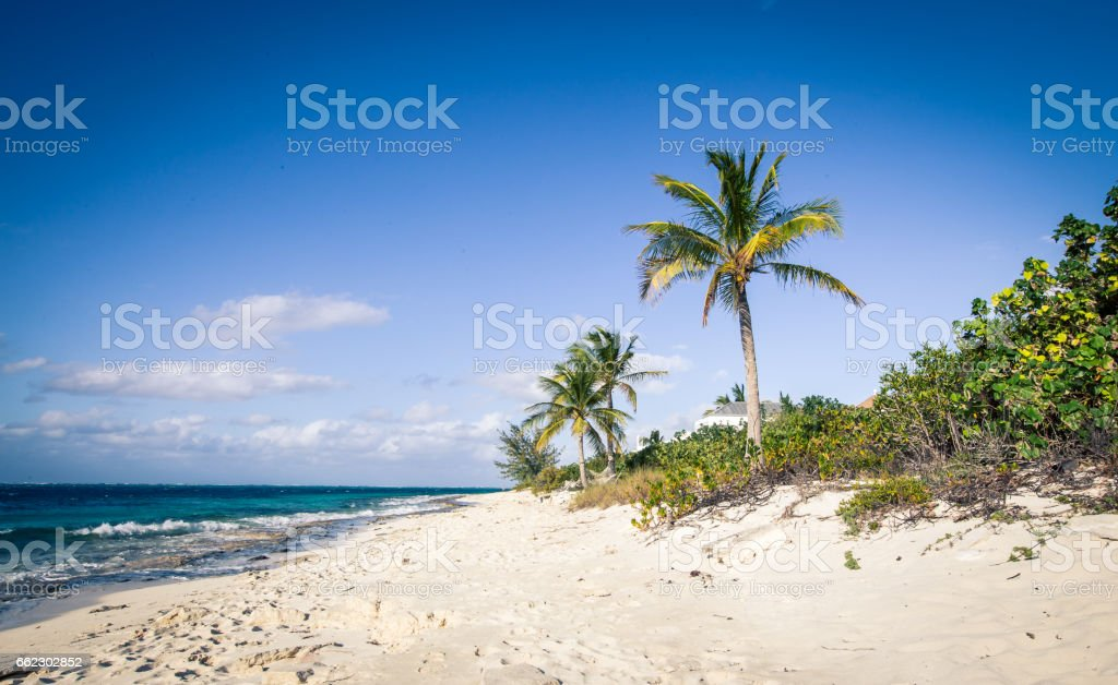 grace bay Turks and Caicos Islands stock photo