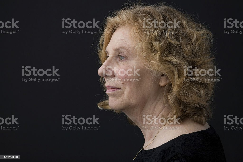 Graceful Aging royalty-free stock photo