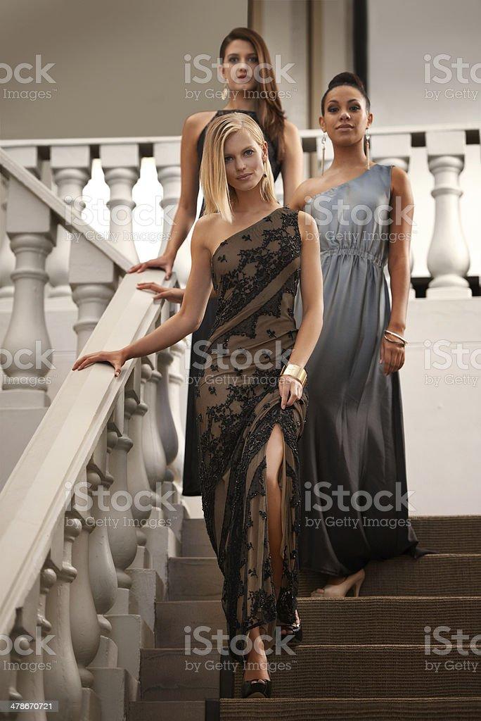 Graceful and elegant stock photo