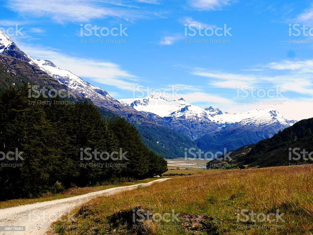 grad glacier foto royalty-free