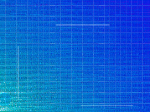 This textured background features the color blue and has a slight 3D component to it's texture. There is a subtle grid pattern.