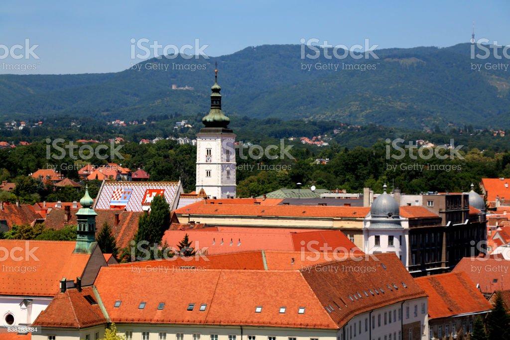 Gradec, Zagreb stock photo