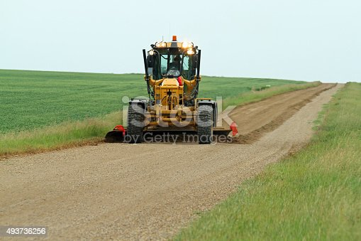 Graders are used in rural Alberta areas to keep the roads smooth. A good operator can make a huge difference to vehicles and their passengers.