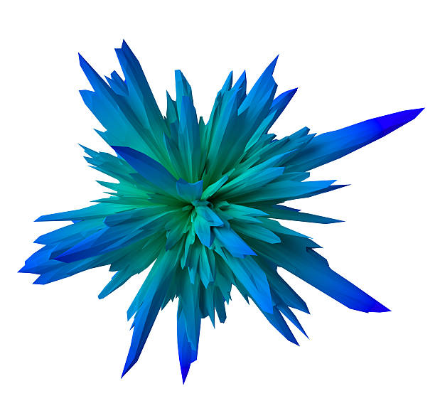 gradient abstract form- blue stock photo