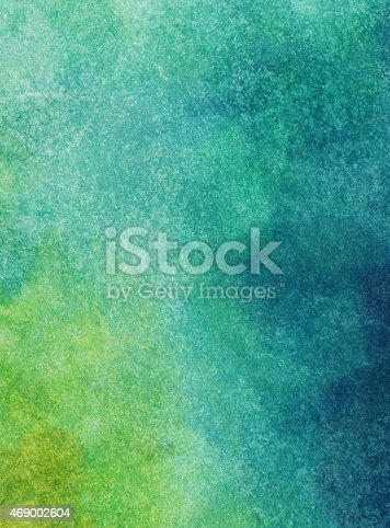 istock Gradient background handpainted with watercolors 469002604