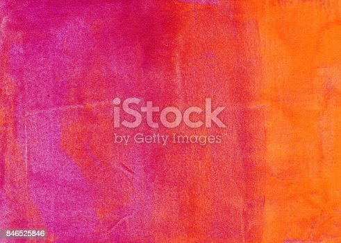 istock Gradient background of pink orange and yellow 846525846