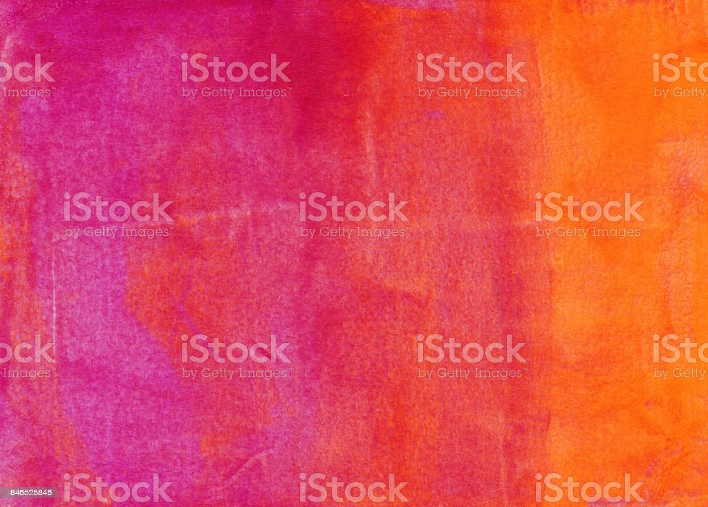Gradient background of pink orange and yellow stock photo