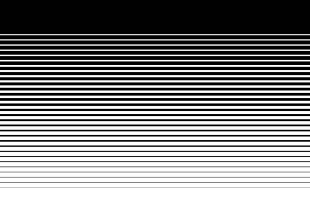 Gradient Hintergrund Streifen schwarz / weiß – Foto