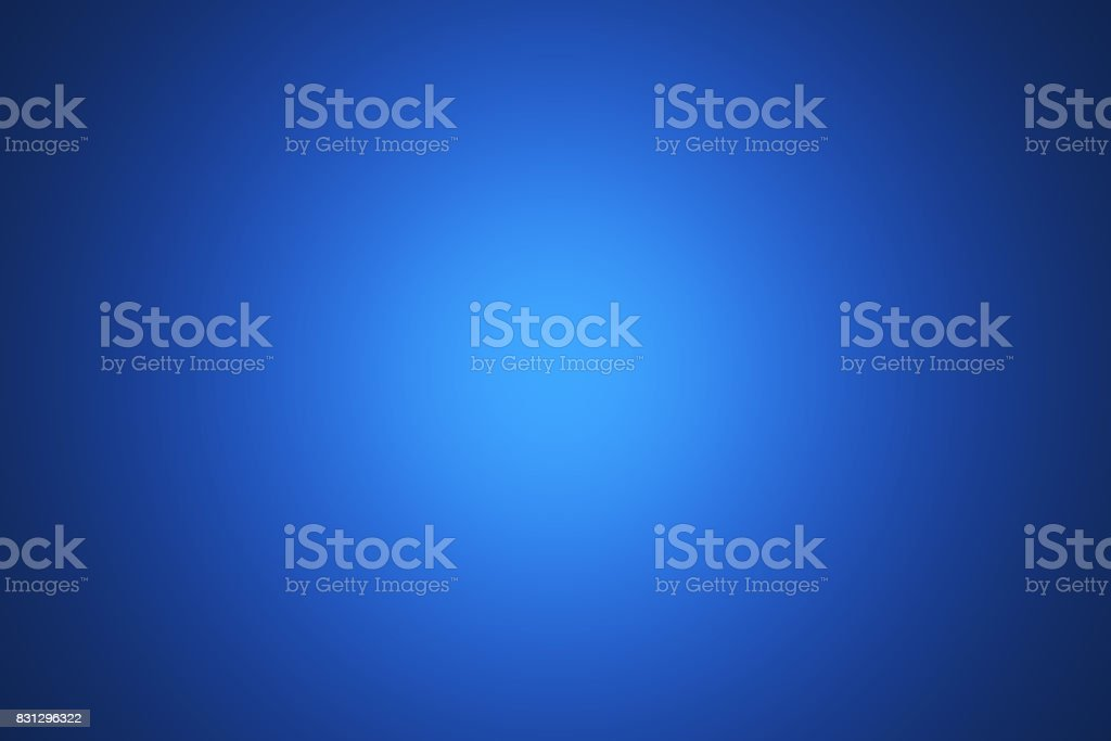 Gradient Blue abstract background stock photo