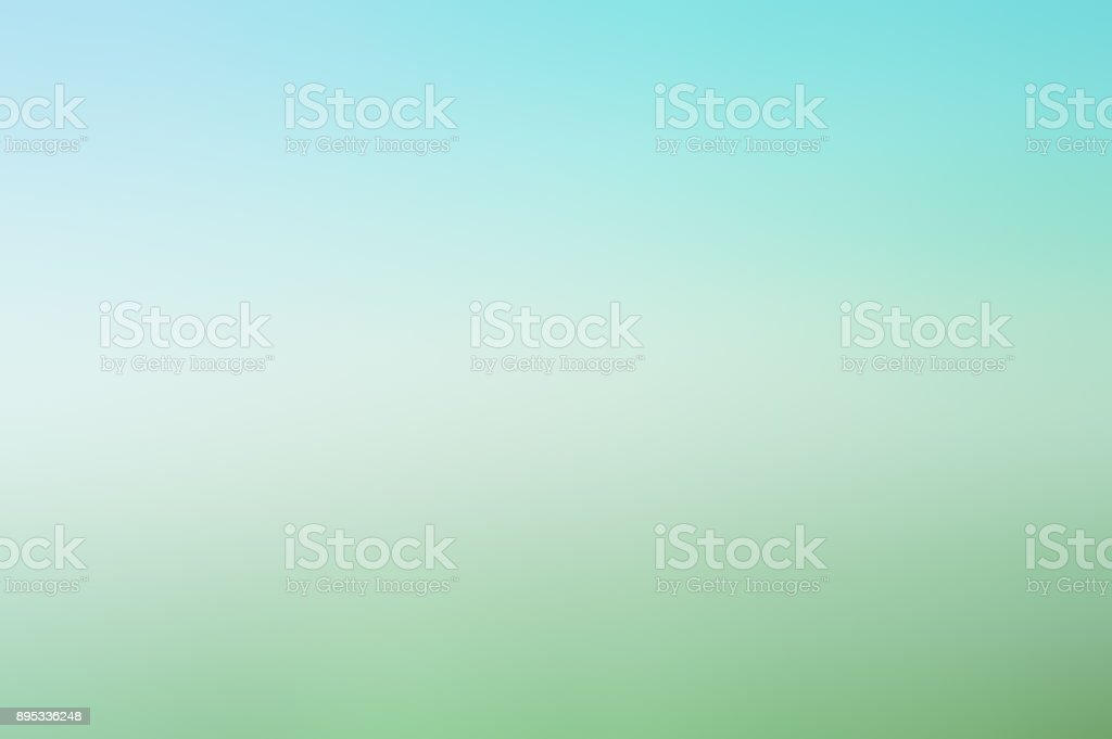 gradient blue and green soft color background stock photo