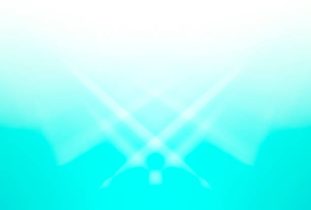 gradient blue  and white abstract  background for design stock photo