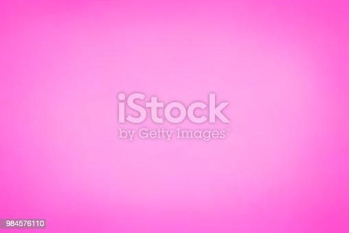 istock Gradient color pink background 984576110