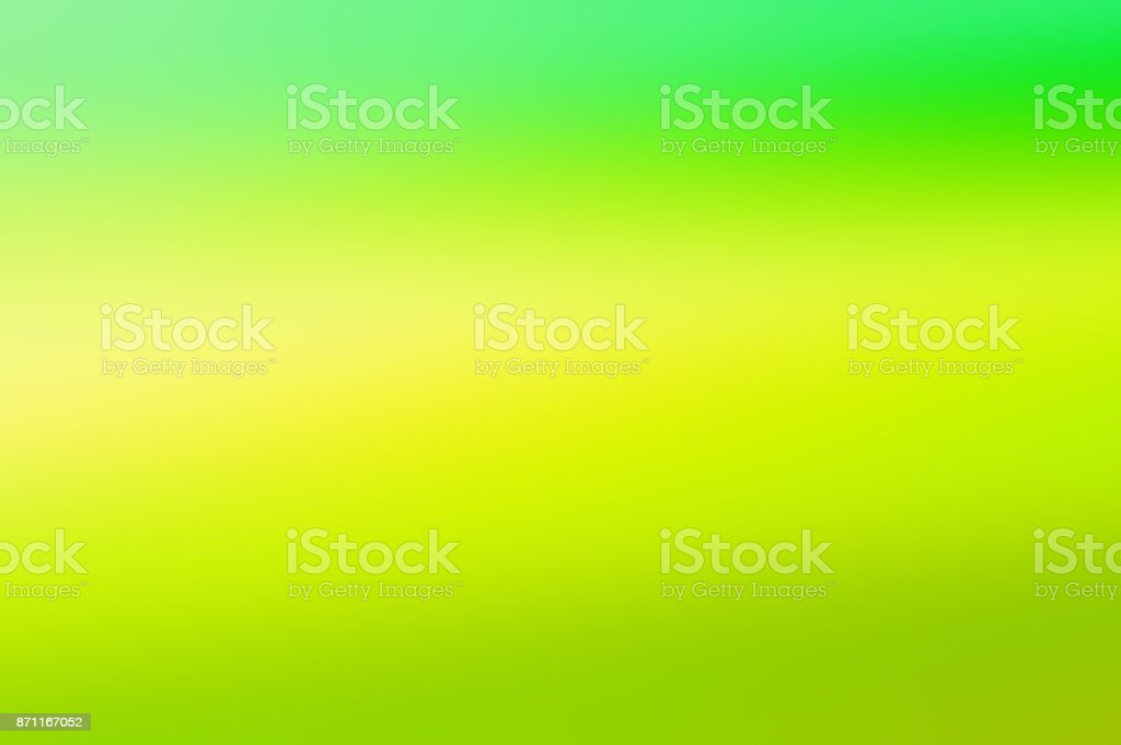 gradient green and yellow  background stock photo