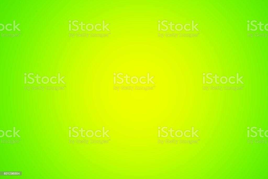 Gradient green empty background. Colorful glowing backdrop, abstract stock photo