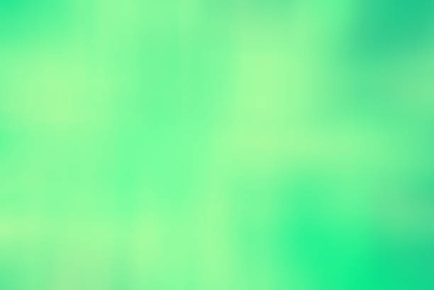 gradient green mint color background stock photo