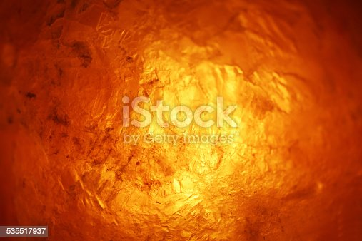 istock Gradient heat inside the geological material 535517937