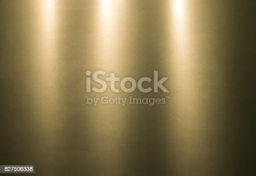 istock Gradient metallic paper background. Abstract colorful material wallpaper. Foil sheet texture. 827506338
