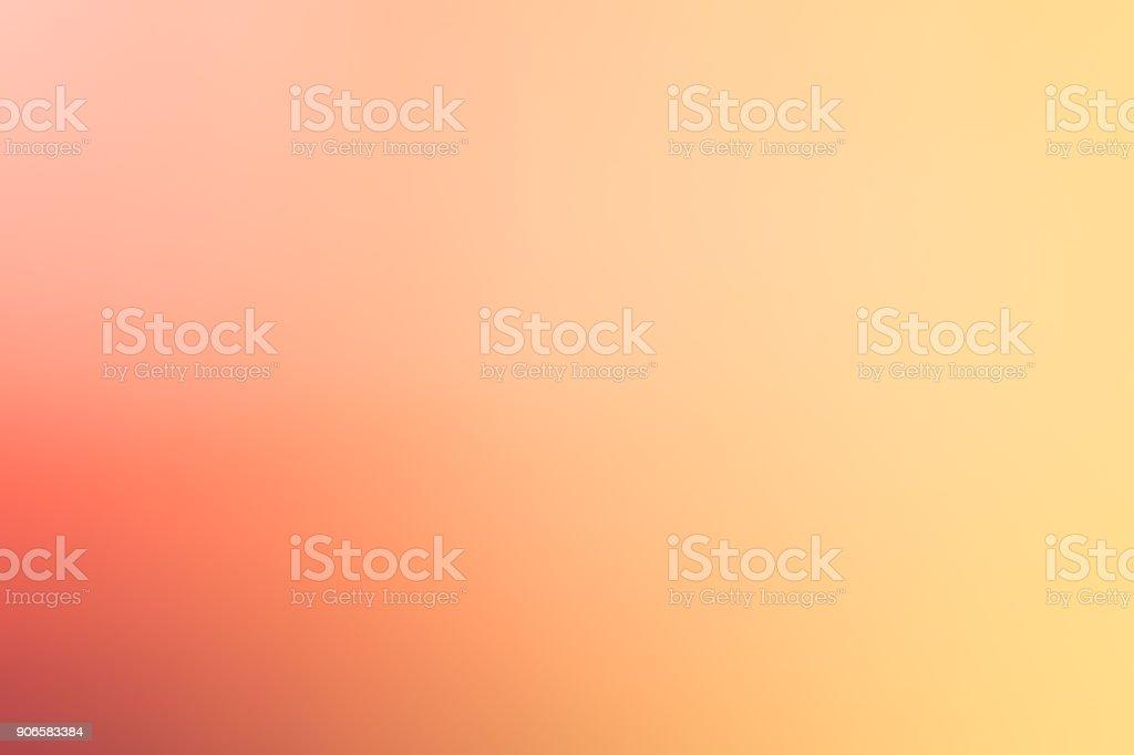 グラデーション オレンジと黄色の柔らかい色の背景 ロイヤリティフリーストックフォト