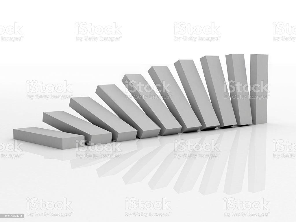 gradient rectangles royalty-free stock photo