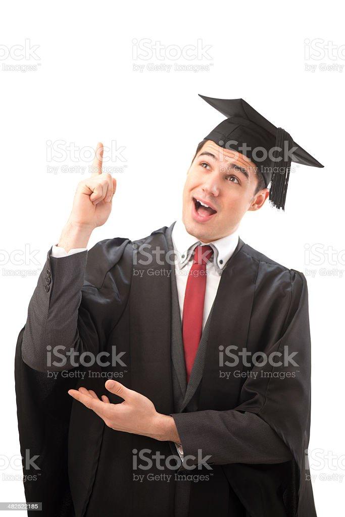 graduate inspiration royalty-free stock photo