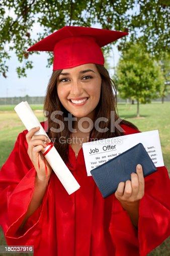 istock Graduate Job Success 180237916