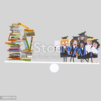 istock Graduate students balance 638884448