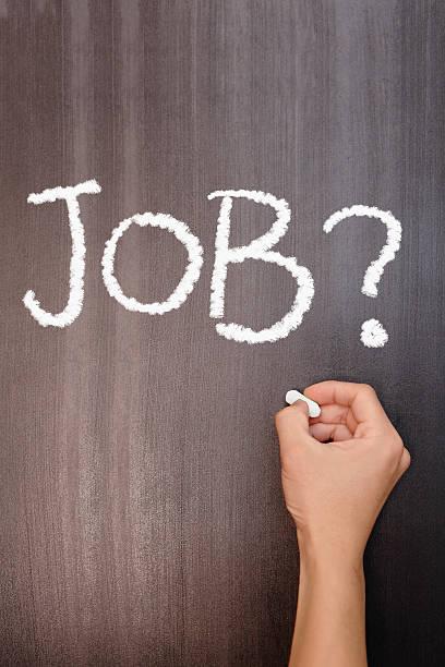 Absolventen Arbeitslosigkeit Konzept – Foto