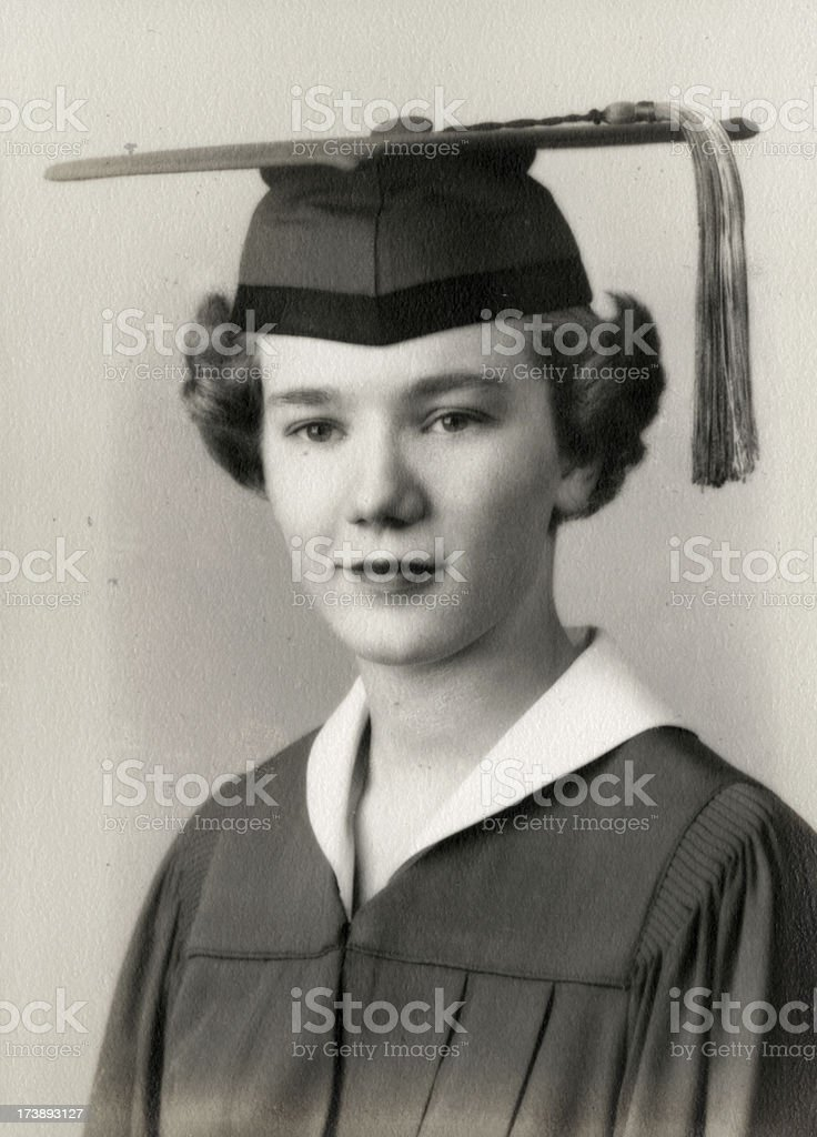 Graduate    View images from same session royalty-free stock photo
